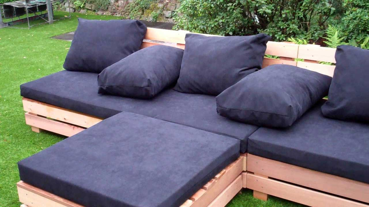 nábytek z palet - zahradní nábytek