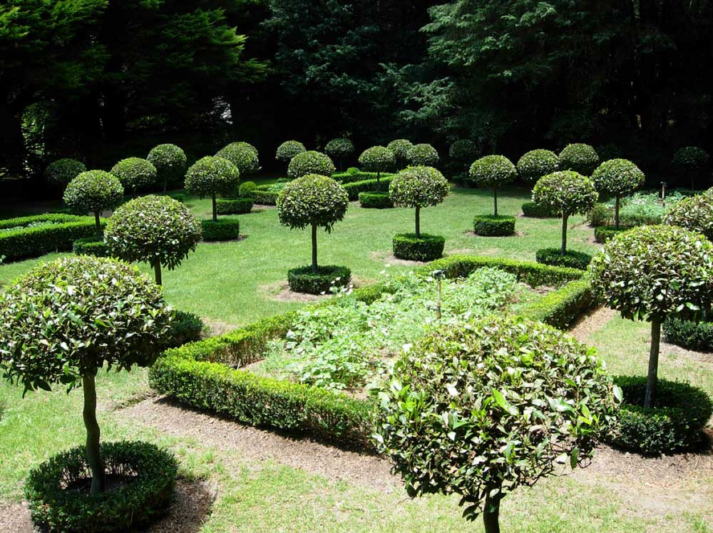 okrasné zahrady fotogalerie