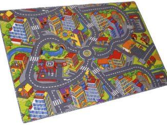 detsky koberec silnice